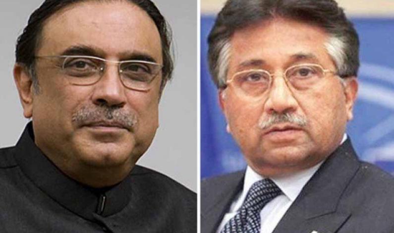 Tough times ahead for Zardari, Musharraf