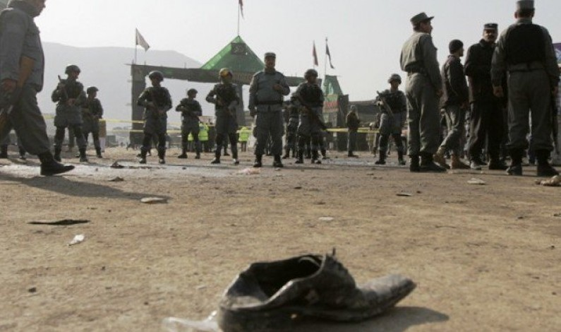 Suicide attack near election office in east Afghanistan kills three