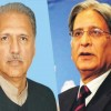 Arif Alvi, Aitzaz Ahsan submit nomination papers for presidential election