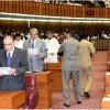 MNAs-elect take oath during first session of 15th National Assembly