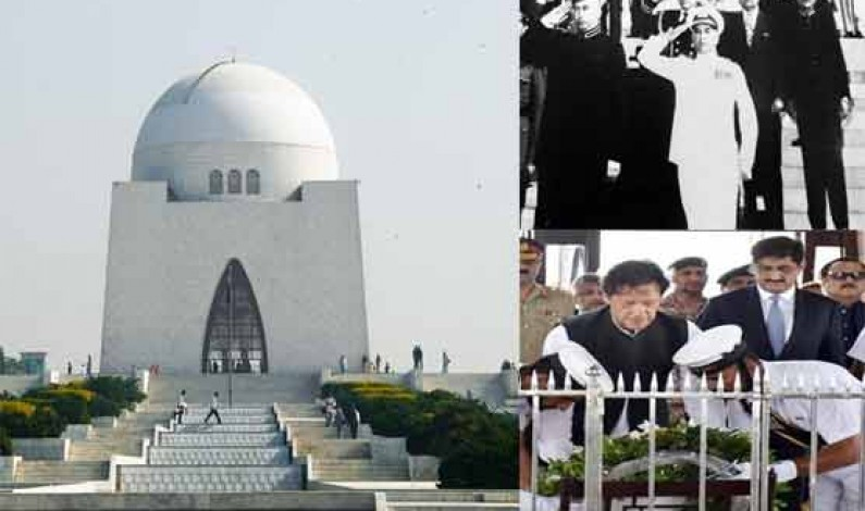 Khan in Karachi: an account of Pakistani rulers' visits to Mazar-e-Quaid