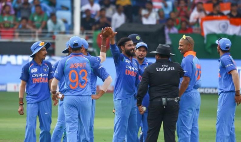 Jadeja, Sharma help India down Bangladesh