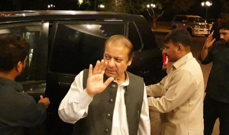 Nawaz returns to political arena after months-long absence