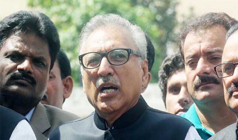 Will try to resolve issues under constitution after winning presidential polls: Alvi
