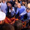 Begum Kulsoom Nawaz laid to rest at Jati Umra amid sobs and tears