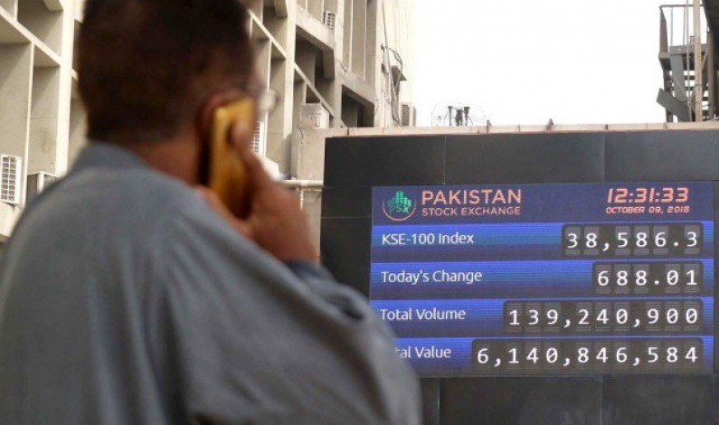 Market watch: Stocks hammered as KSE-100 loses 880 points