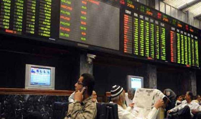 Pakistan stock market slips below 37000 points level