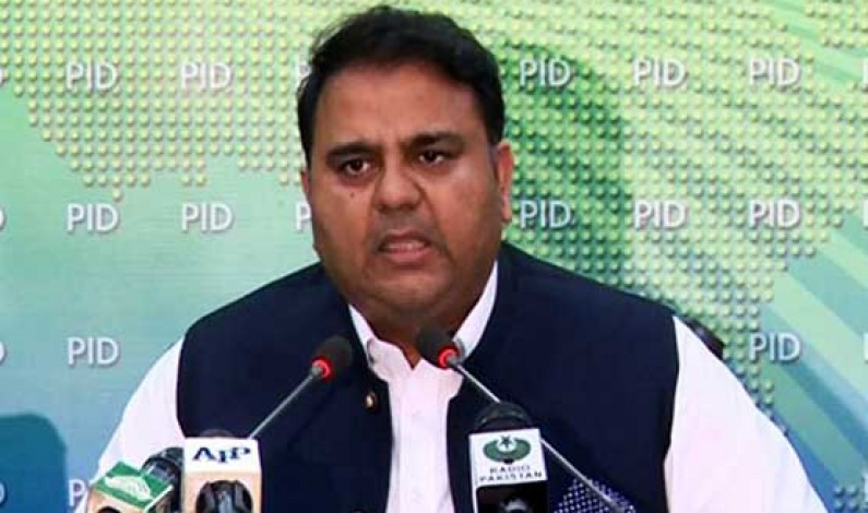 Fawad Chaudhry blames PML-N govt for expensive electricity