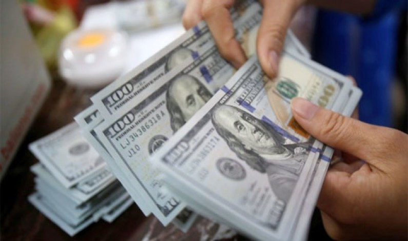 Dollar up by 15 paisa in interbank market