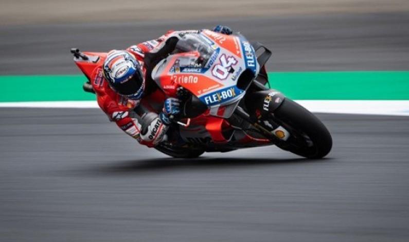 Dovizioso tops free practice ahead of Japanese GP