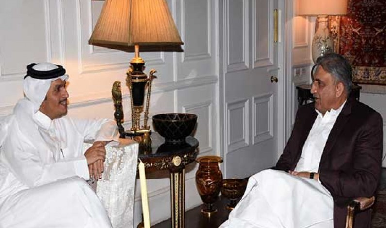 Army chief, Qatari deputy PM discuss regional security