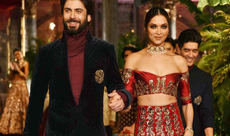 Deepika Padukone falls head over heels for Fawad Khan and Pakistanis are loving it