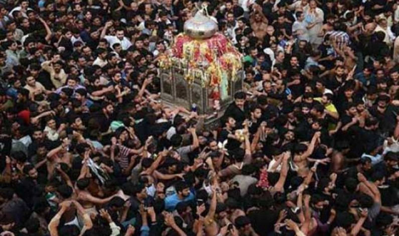 Chehlum of Imam Hussain (RA) being observed today