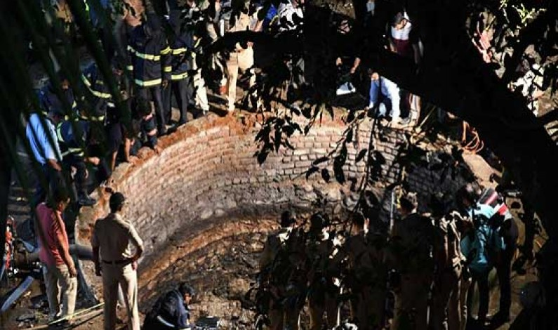 Three dead after falling into well during Hindu ritual