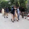 Several injured as police baton charge protesting students at Peshawar University