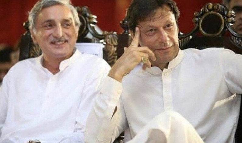 Govt, Tareen served notices over disqualified leader chairing official meeting