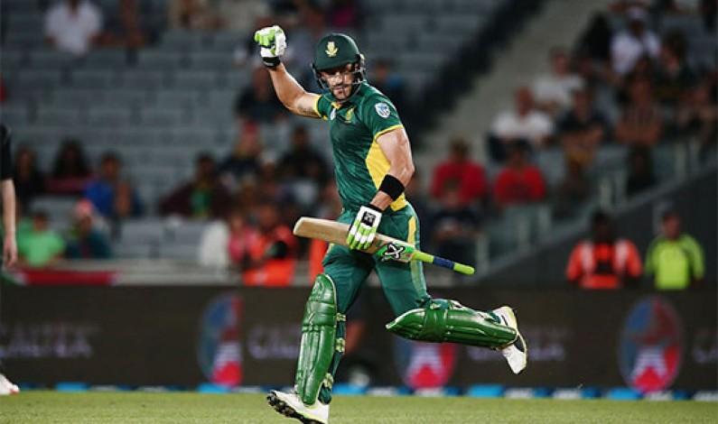 Fit-again Du Plessis aiming for 'big runs' in final ODI