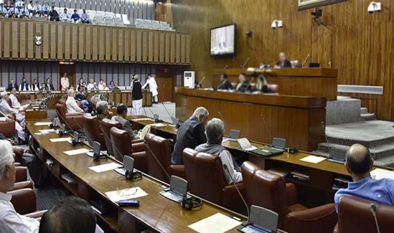 By-polls for two Senate seats of Punjab will be held today