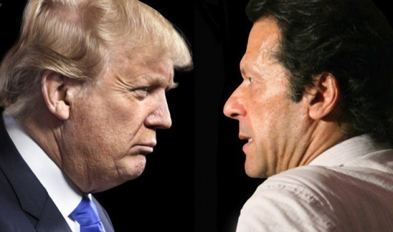 Relentless Trump triggers Twitter spat with Imran