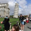 Not-so-Leaning Tower of Pisa as landmark straightens