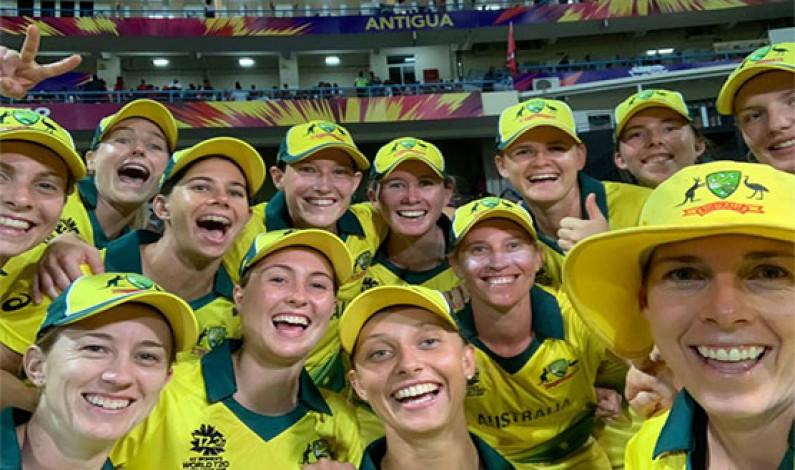 Australia thrash Windies to reach World T20 final