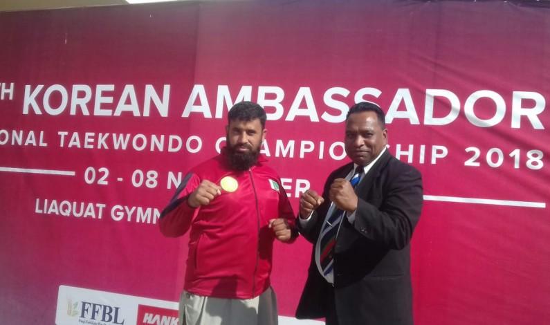 13thKorean National Taekwondo Championshipsconclude at Liaquat Gymnasium, Islamabad