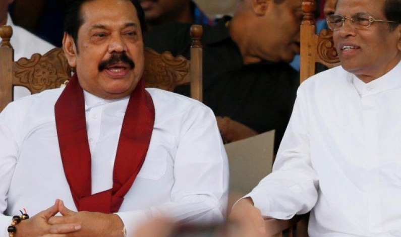 Sri Lanka president signs papers to dissolve parliament