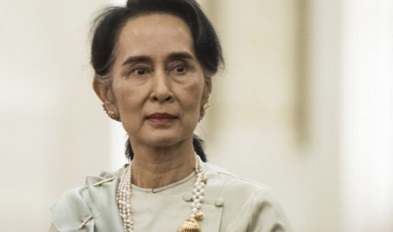 Suu Kyi to be stripped of freedom of Paris award: mayor's office