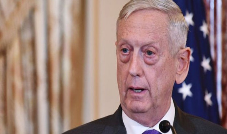 US Defence Secretary Mattis to step down