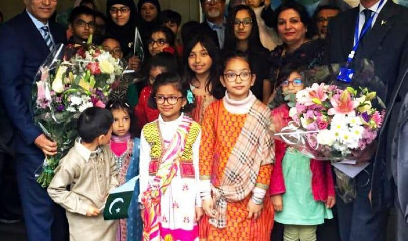 Pakistan Community of Lyon, France celebrated National Day of Pakistan