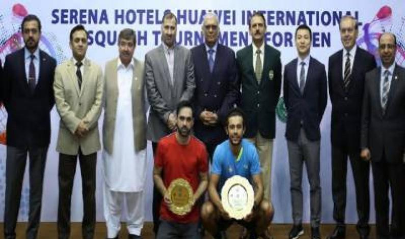 Egyptian player  ElShirbini won  International Squash title