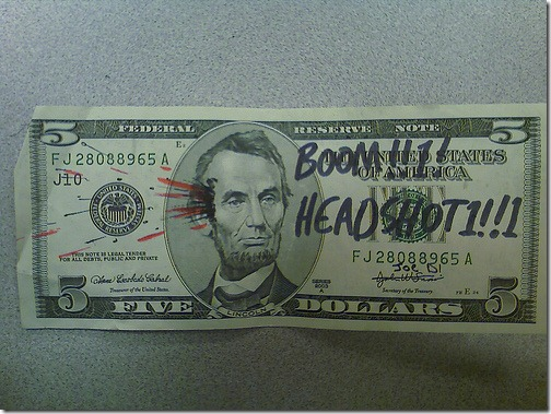 Assassination Five Dollar