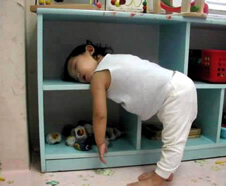 Funny Sleeping Positions 19