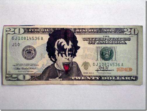 KISS 20 Dollar