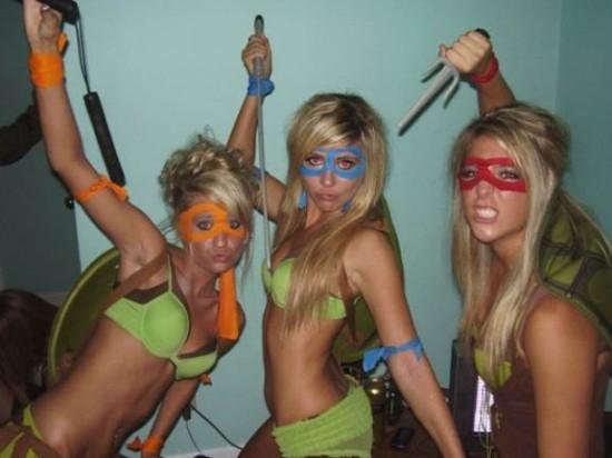 Teenage Mutant Ninja Chicks