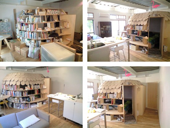 Uroko Bookcase Idea