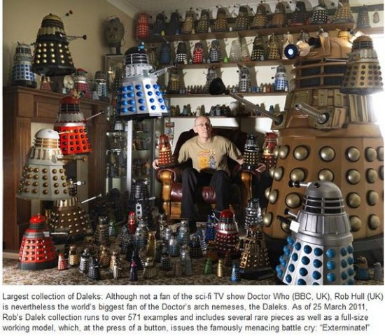 Largest collection of Daleks