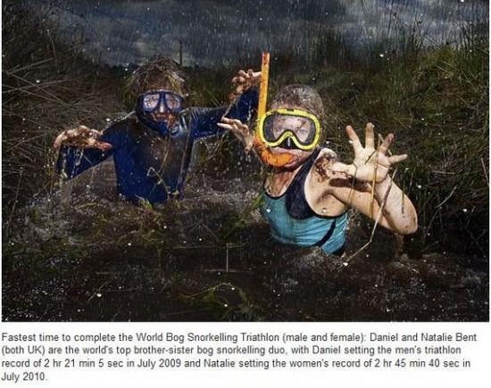 World Bog Snorkelling