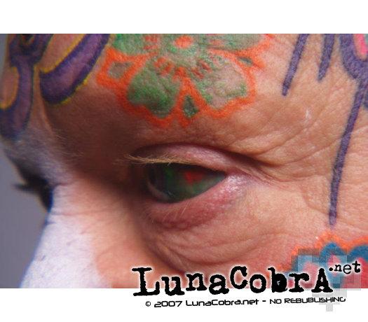 Eyeball Tattooing