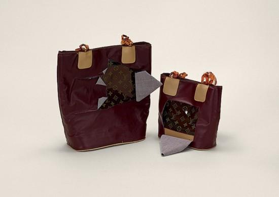 Handbag Louis Vuitton (disguised) (counterfeit)