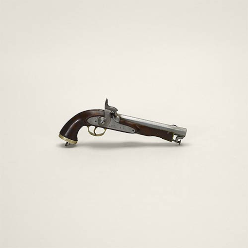 Percussion pistol, Enfield 1858, Afghanistan (unlicensed)