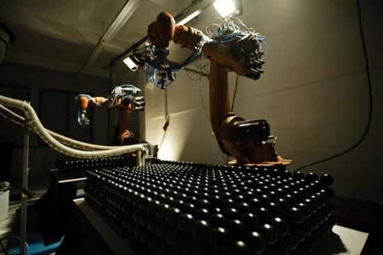 Robot Made Cculpture