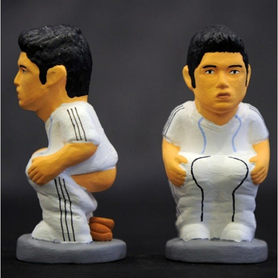 The player of Real Madrid Cristiano Ronaldo