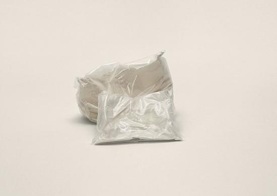 Unidentified white powder