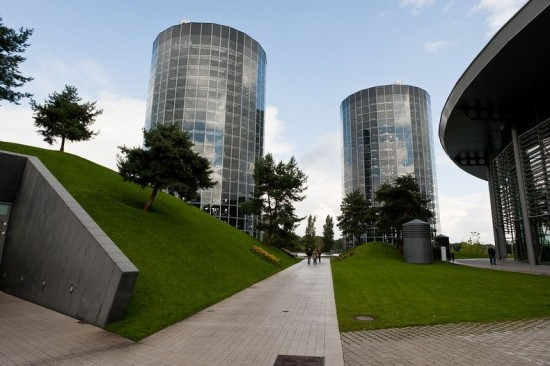 Car Towers at Autostadt in Wolfsburg