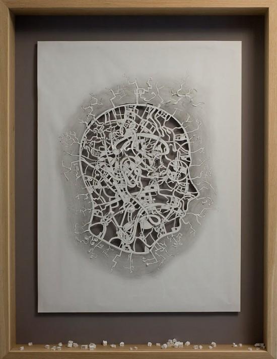Danish artist Peter Callesen