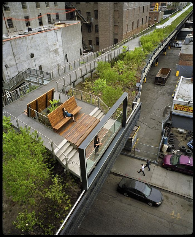high line abandoned railway line becomes elevated park in new york yes urdu and english news. Black Bedroom Furniture Sets. Home Design Ideas