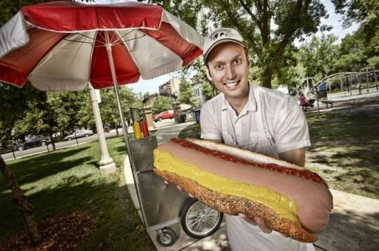 Largest hotdog