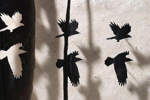 Feather Cutwork