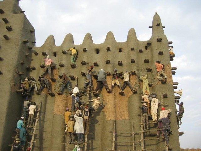 Great Mosque in Djenne